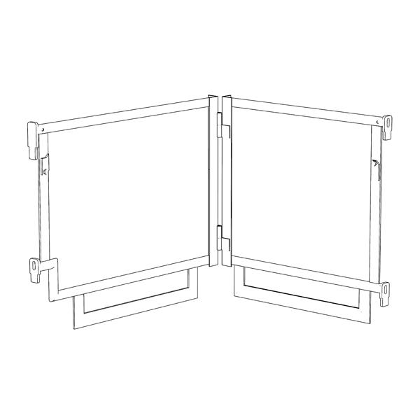 Folding Guard Frame