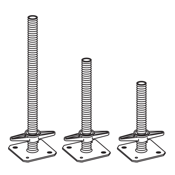 Metrix Adjustable Base Jacks