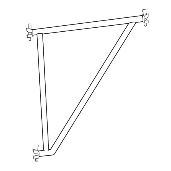 Metrix Reinforced Console (Hop-up) Brackets