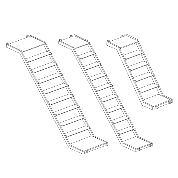 Metrix Staircase with Landings