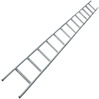 Galvanised Steel Ladder