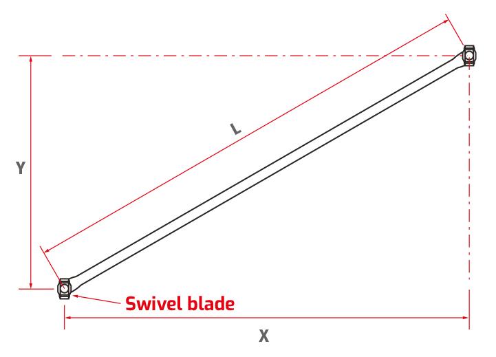 Vertical Diagonal Brace